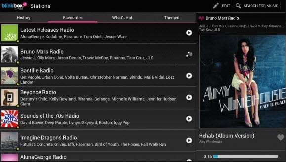 BlinkBox Musicas