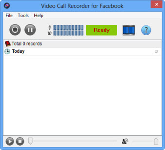 Video Call Recorder para Facebook