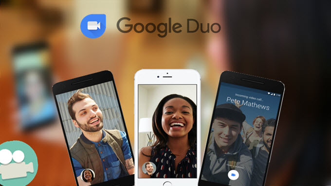 gravar video do Google Duo